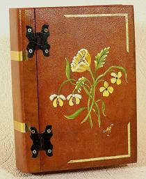 Peinture d corative sur objets bois et m tal - Peinture decorative sur bois et metal ...